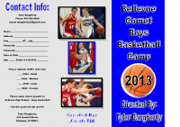 Jacob's Basketball Camp Brochure